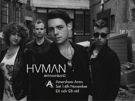 HVMAN at the Amersham Arms, New Cross