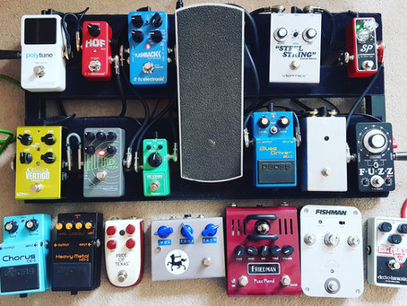 Pedals for Rockfield