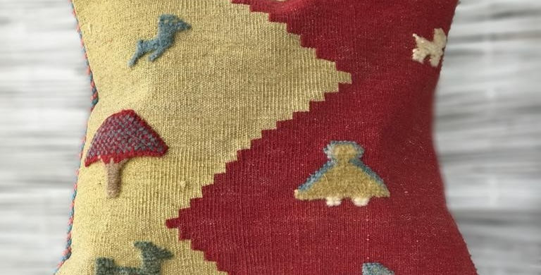 Red Sea Artisan Cushion Cover