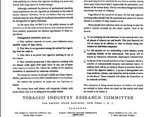 Tobacco Litigation Graphics