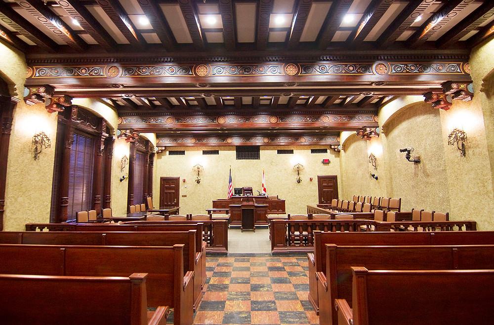 Miami Dade Court Room