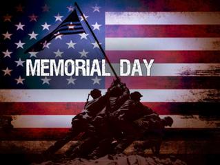 Memorial Day - Thank You