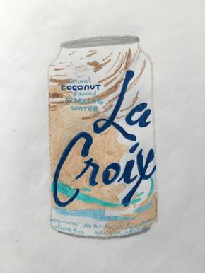"""Coconut La Croix Can"""