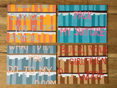 """""""Bookcase Paintings"""""""