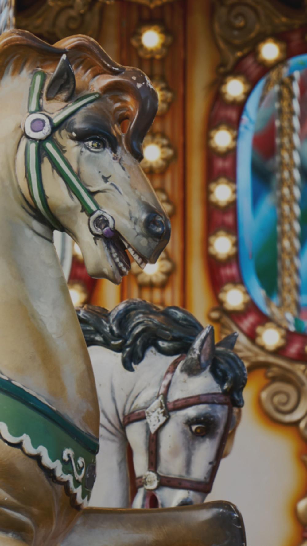 Karussell-Pferde; Foto: Ignasoler