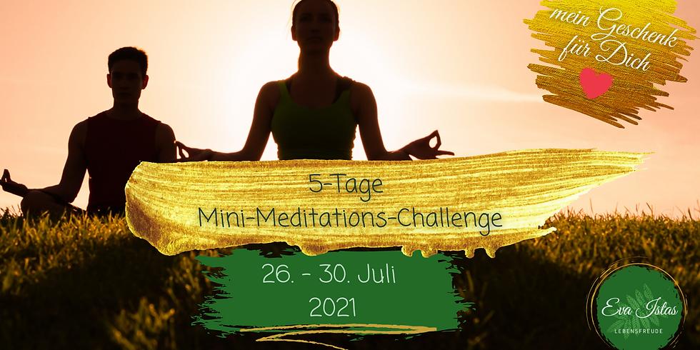 5-Tage Mini-Meditations-Challenge