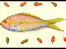Red Snapper, Garlic & Chilli Peppers