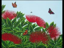 Pohutukowa Bush, Butterflies & Bees (New Zealand)