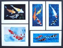Koi Art Mini Prints