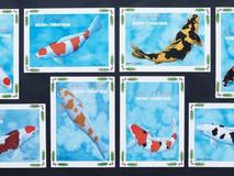 Koi Art Christmas cards