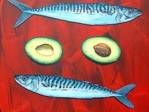 Four Mackeral & an Avocado