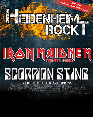 Heidenheim Rockt Iron Maidnem Scorpion Sting