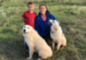 Carson and I with pyrenees.jpg