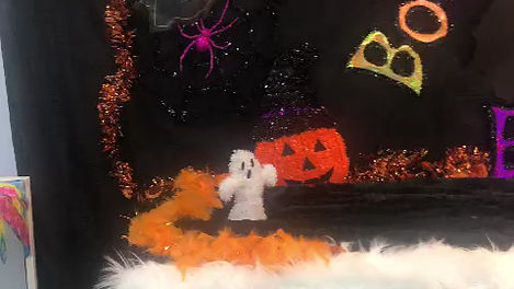 See how we have decorated our store for holloween 2020