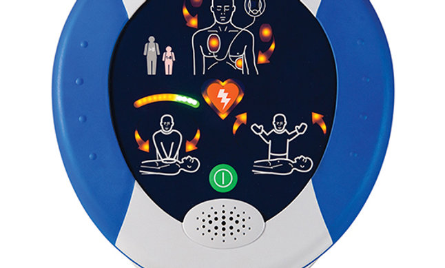 HeartSine 500P AED With CPR Advisor