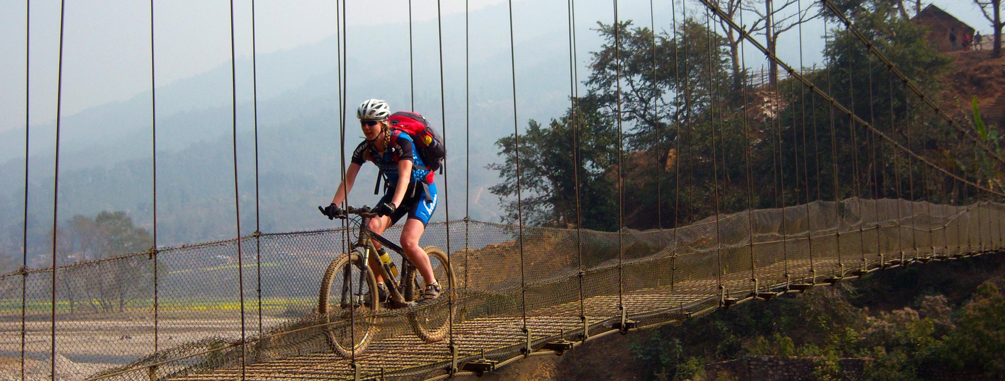 Suspensionbridge Lamjung