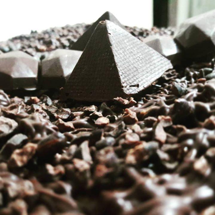 Chocopyramidelandia en dunas de cacao..