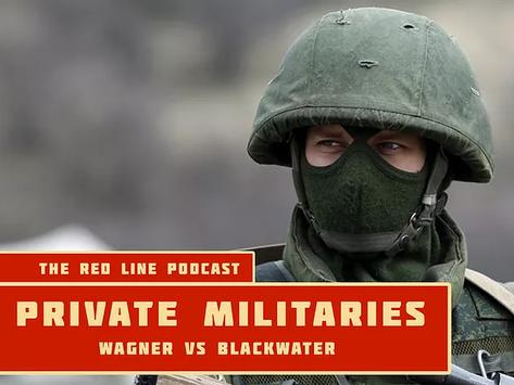 Episode 13. Private Militaries