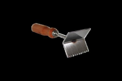 Škrabka na mriežky - nerez