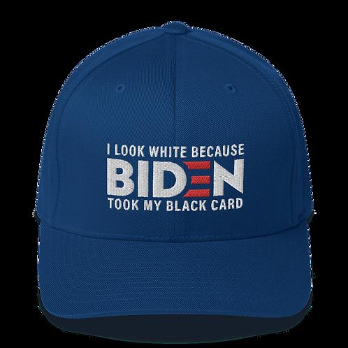 I Look White Because Biden Took My Black Card