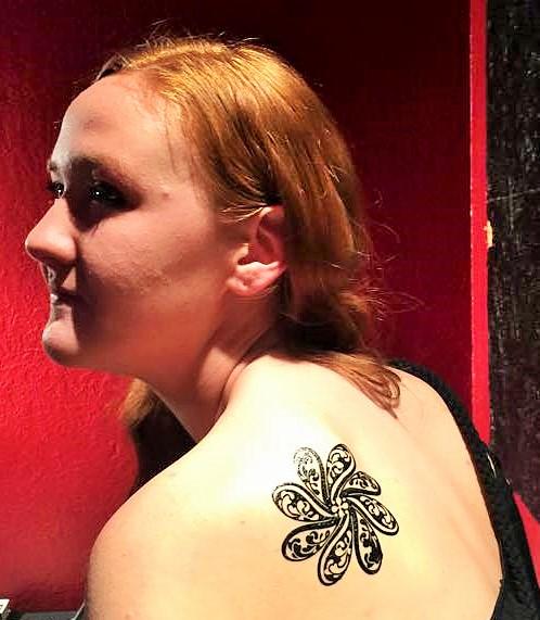 Matte tattoo