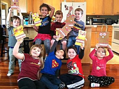Crafts made by children
