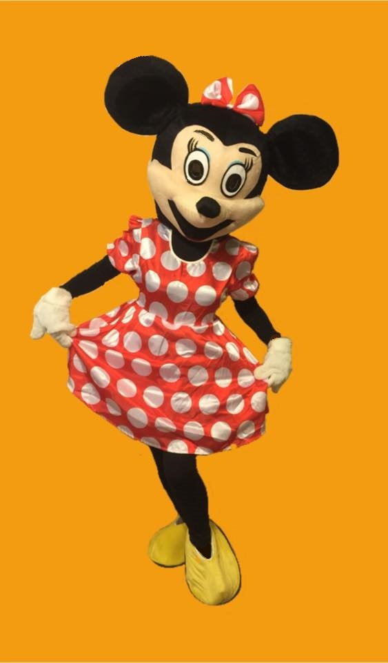 Mascot Minnie Mouse