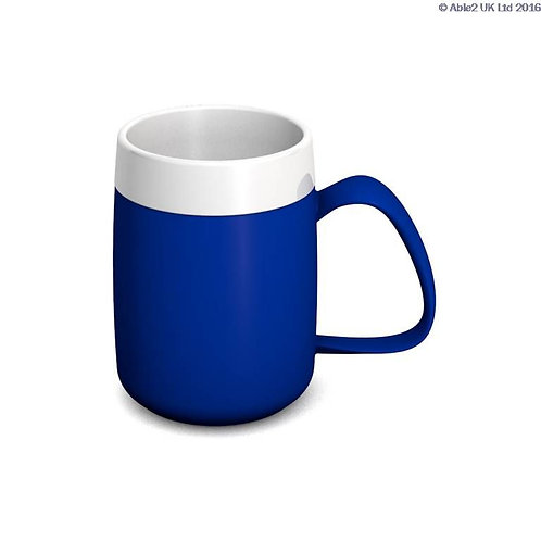 Ornamin One Handled Mug + internal cone - 200ml - Blue/White