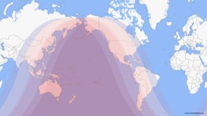 Lunar Eclipse in North America on Wednesday, May 26, 2021