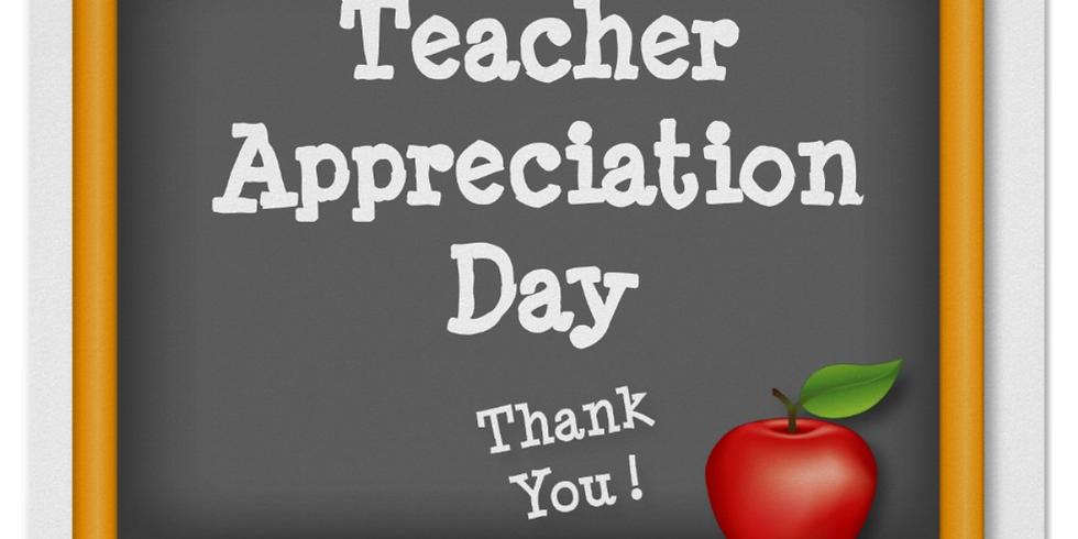 Sunday School Teacher Appreciation & Picture Day!