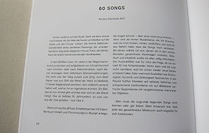 Text zu 60 Songs