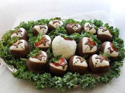 Chocolate Strawberry Tray