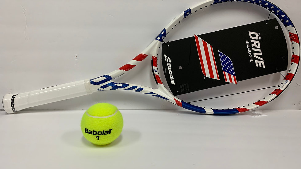 PURE DRIVE USA FLAG TENNIS RACQUET
