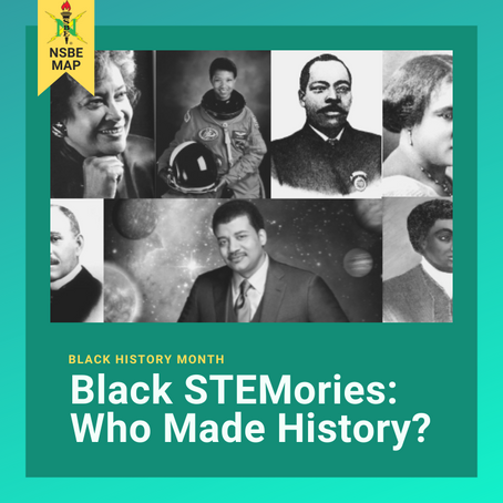 NSBE MAP Black STEMories Series 2020