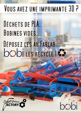 Et si vous recycliez vos déchets de PLA...