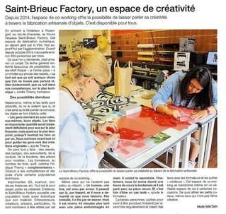 Saint-Brieuc Factory, un espace de créativité au Légué - Ouest France