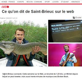Ce qu'on dit de Saint-Brieuc sur le web (Ouest France)