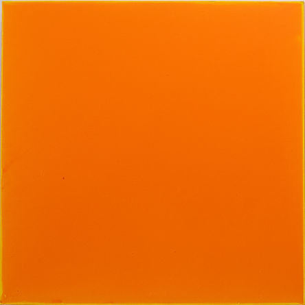 Orange plane 3  24 x 24 acryl on panel 2