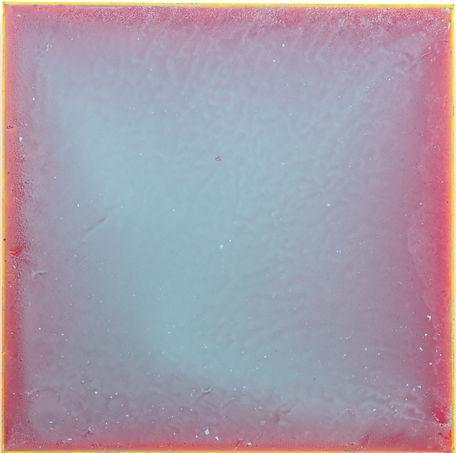 Gajeesaek 2  24 x 24 acryl on panel 2020
