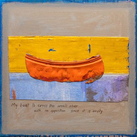 David Eddington, Untitled  18 x 18  Acry