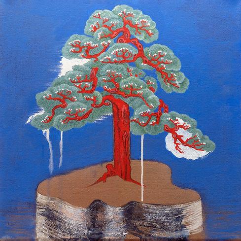 David Eddington, Untitled 2  18 x 18  Ac