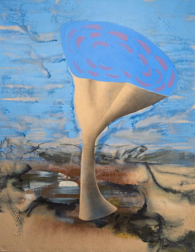 David Eddington, Orbis  56 x 72  Acrylic