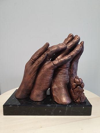handbeeld - handcasting