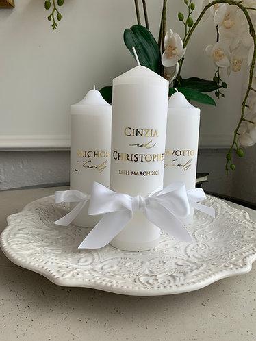 CINZIA - Candle set