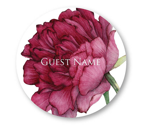 Tyana - Round Place Card