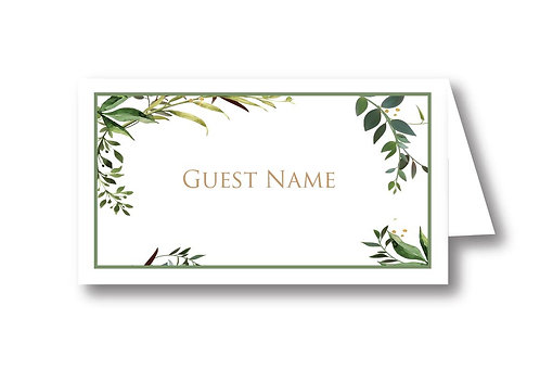 Jane - Place Card