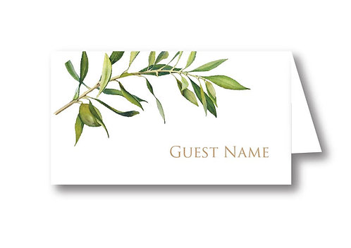 Olive - Place Card