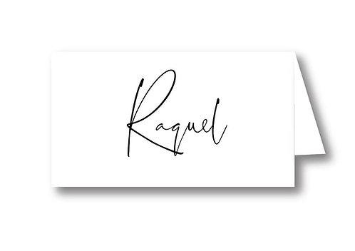 Raquel - Place Card
