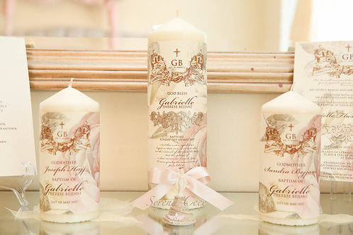 Gabrielle Christening Candle Set