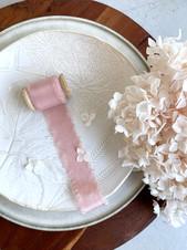 Silk Ribbon - Dusty Pinkjpg